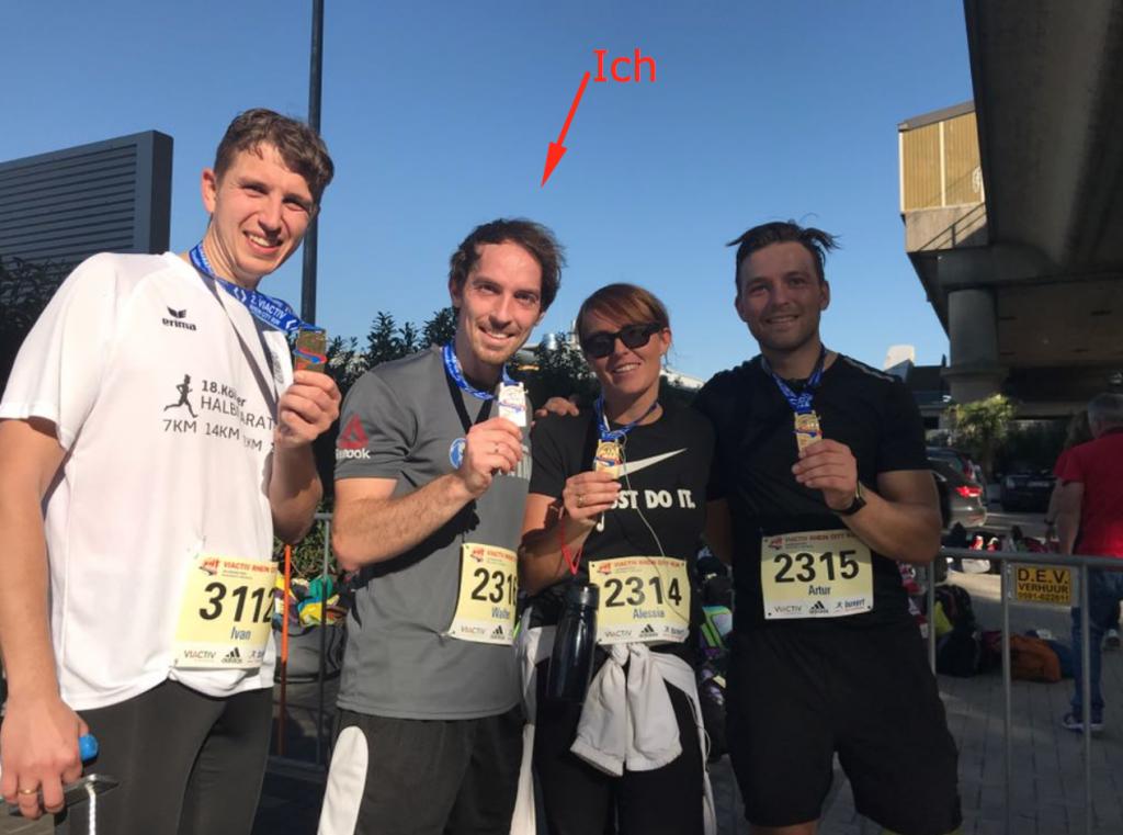 Halbmarathon von Düsseldorf nach Duisburg