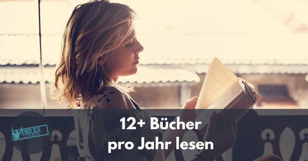 12 Bücher jährlich lesen